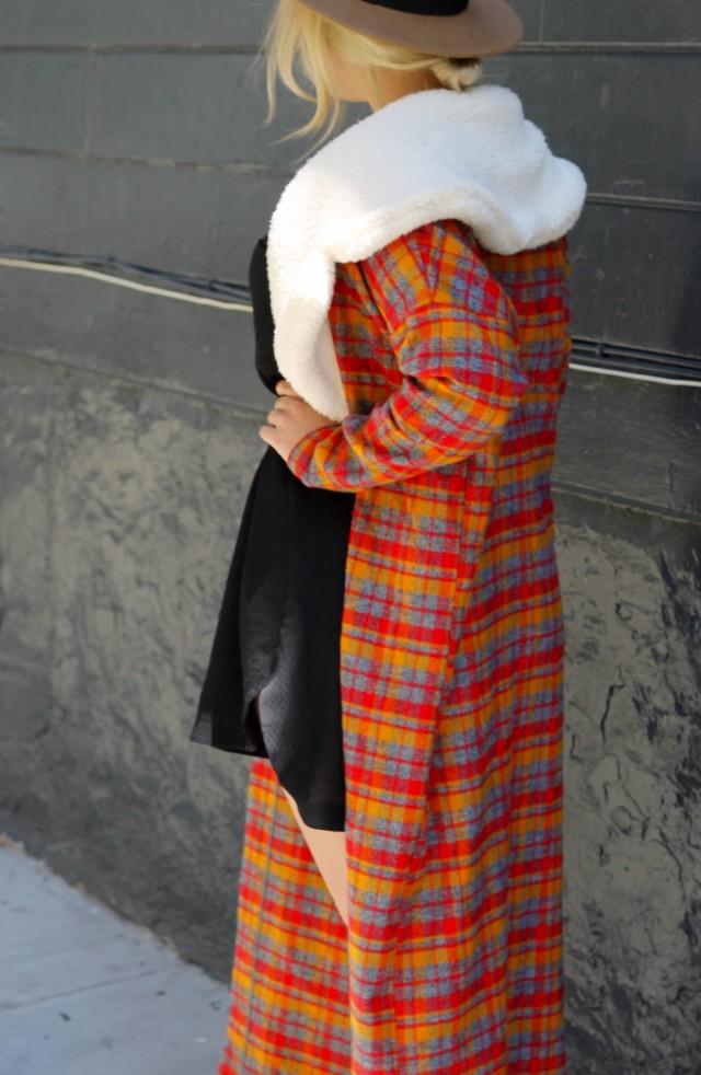 KatWalkSF Plaid Coat