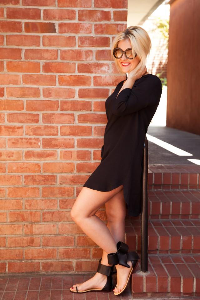 KatWalkSF Black Tunic