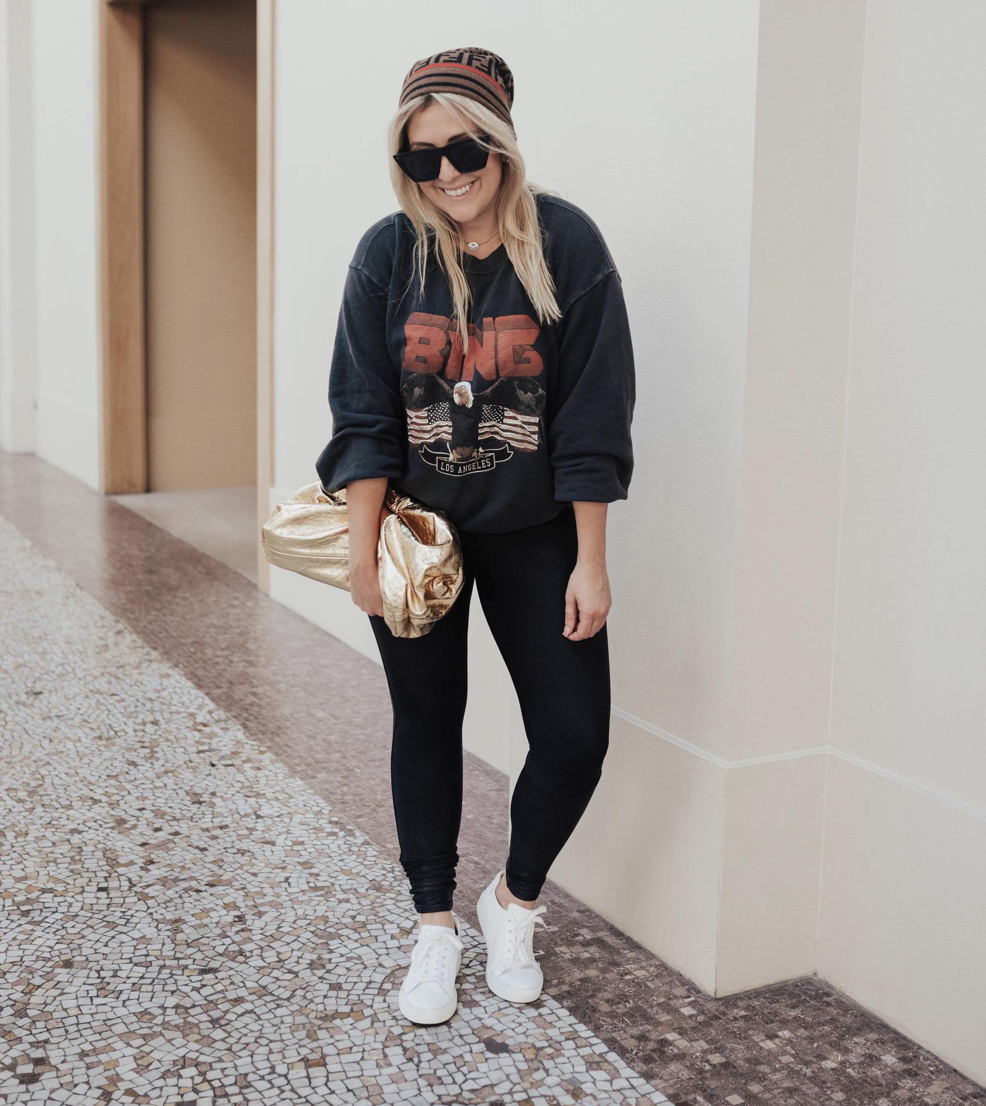 Anine Bing overpriced vintage bing sweatshirt