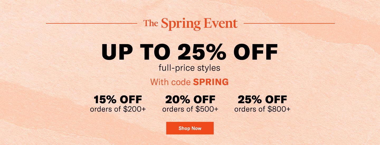 The Shopbop Spring Event
