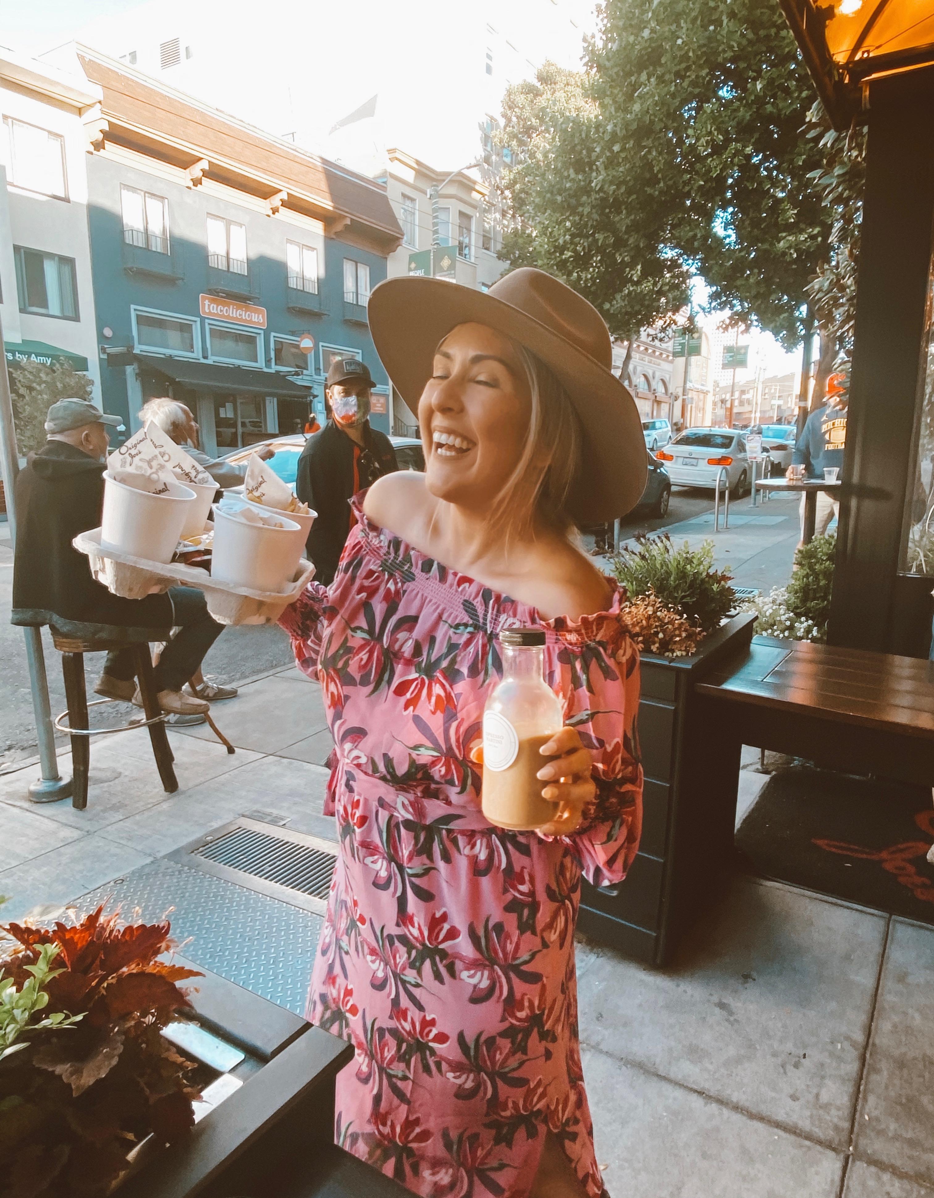 wayf Cassidy Off-the-Shoulder Maxi Dress