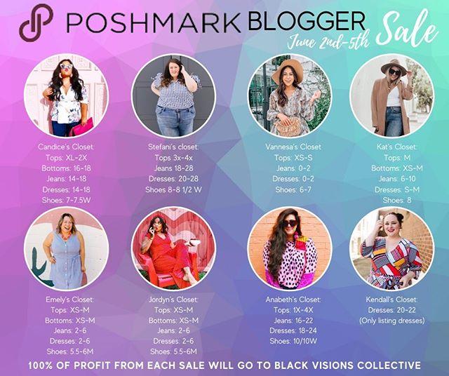 Poshmark Blogger Sale