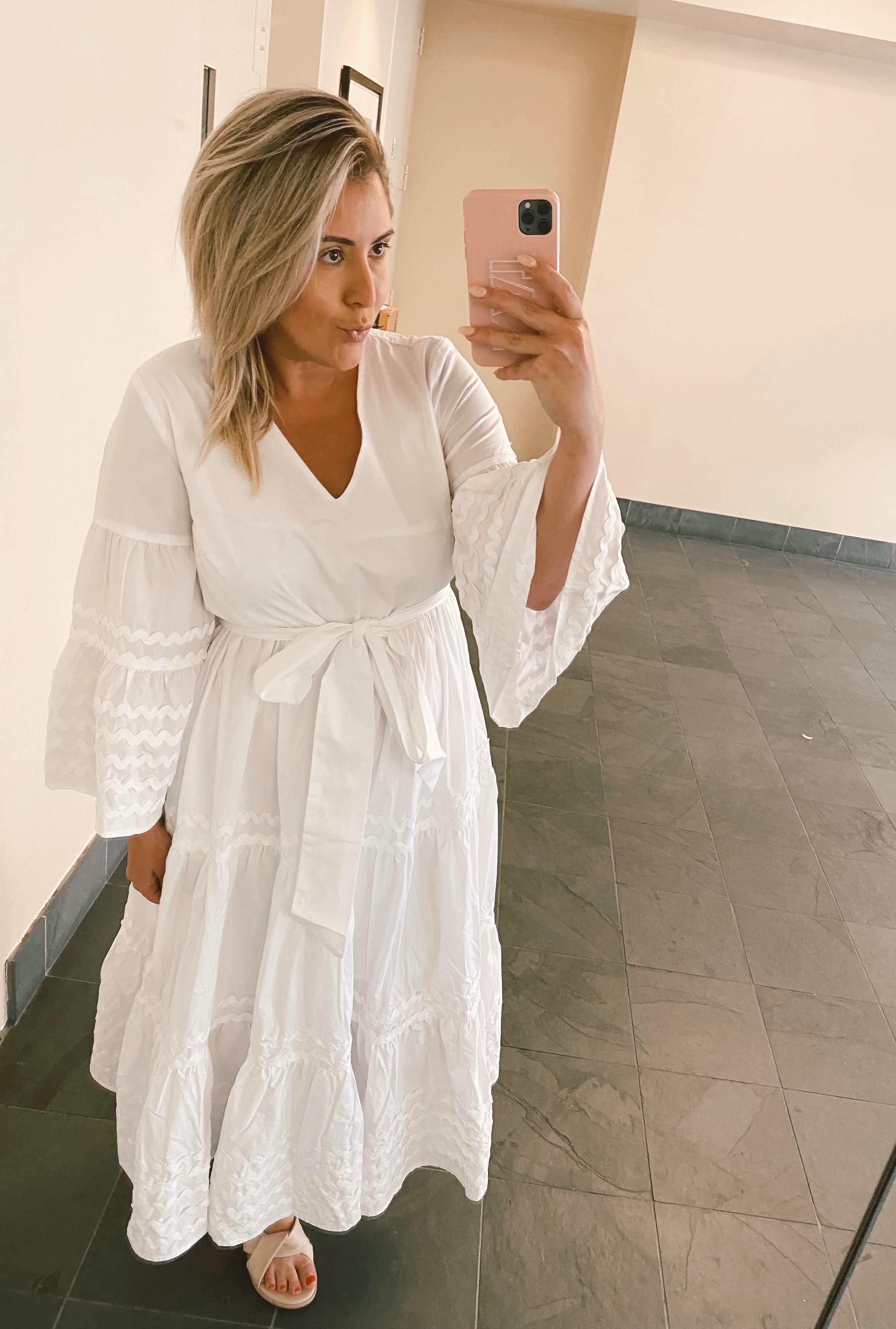Target Designer Dress Collection, Lisa Marie Fernandez for Target Ric Rac Flare Sleeve Dress