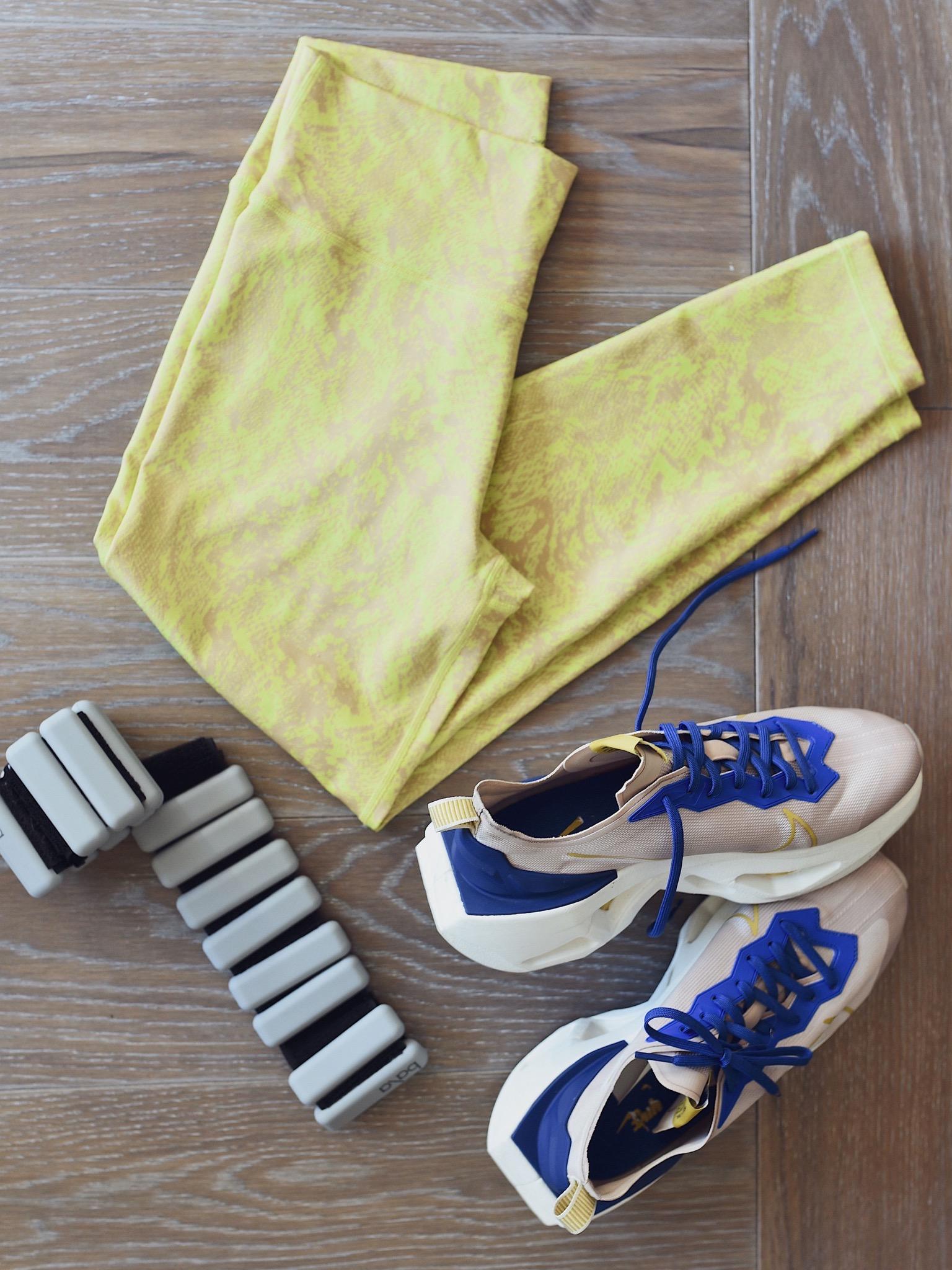 Bala Bangles Review, Bala Bangle, 1 lb Bala Bangles, Sweaty Betty Leggings, Nike Zoom