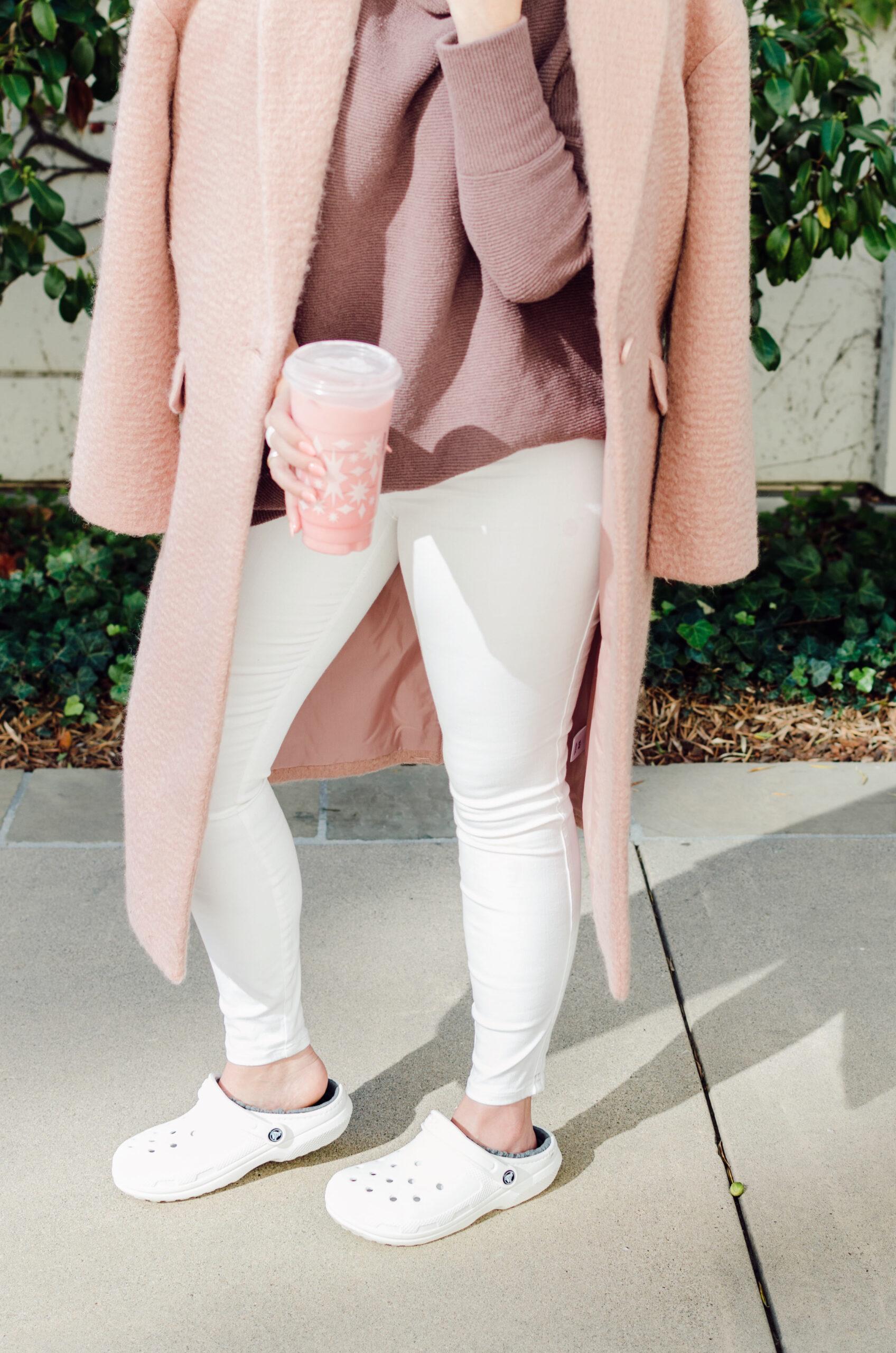 Keto Pink Drink, Express pink jacket, crocs, katwalksf, kat ensign, keto kat