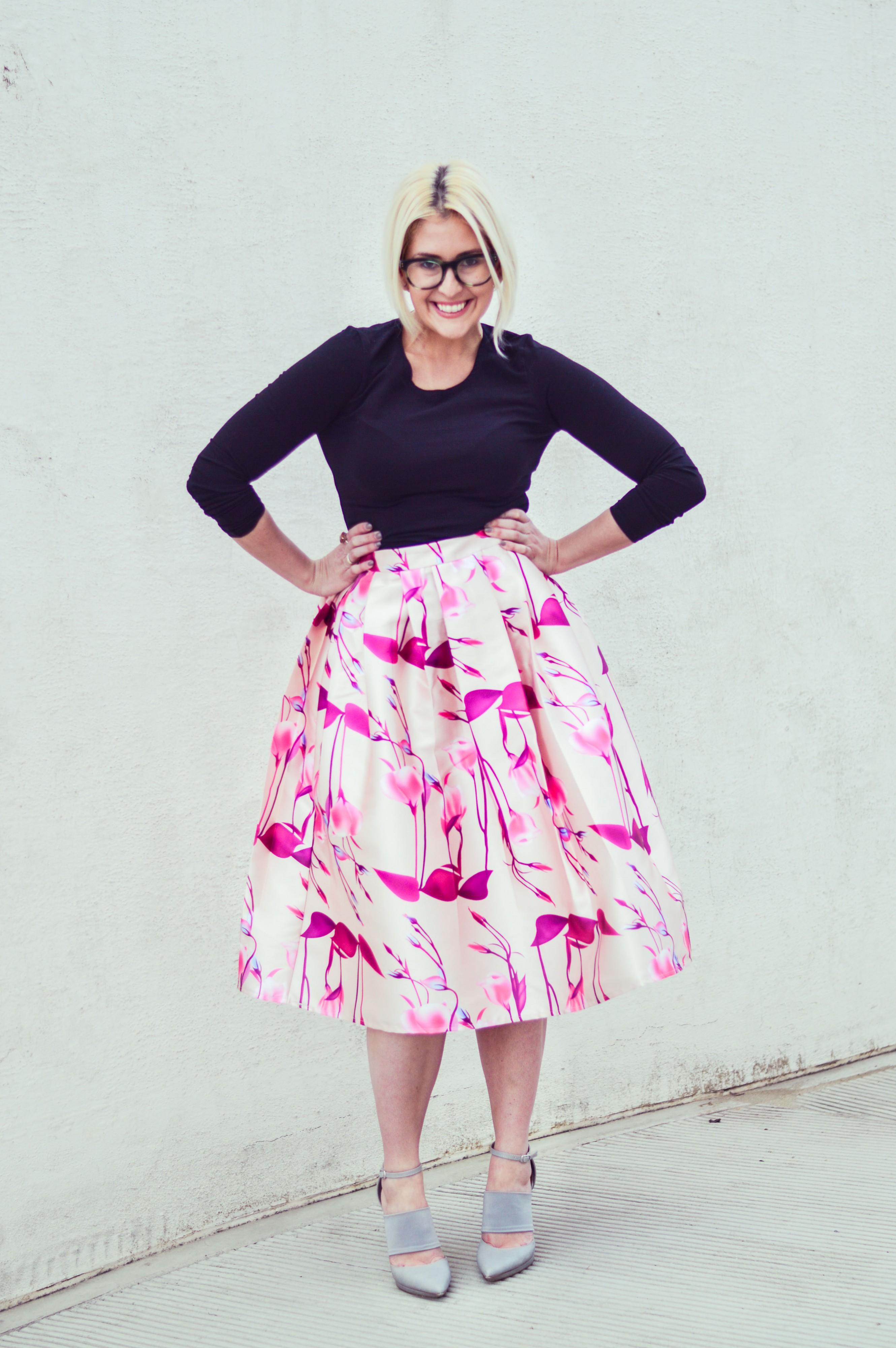 KatWalkSF - Midi Skirt
