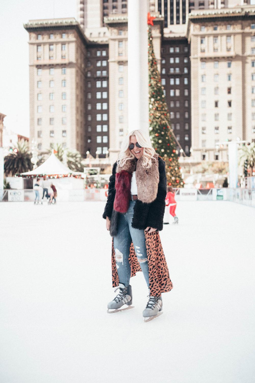 SF Blogger, San Francisco Blogger, Top Blogger, Bay Area Bloggers, Kathleen Ensign, DVF leopard, Faux Fur, Fashionista, Fashion Diaries, Gucci Belt, Good American, Aviator Sunglasses, Twiirly, Twiirly Bloggers, Beglammed